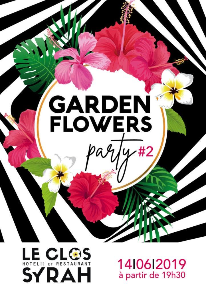flyer GARDEN FLOWERS PARTY 2