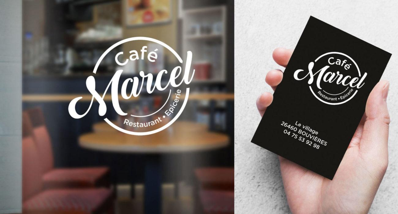 LOGO cafe marcel